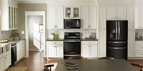 whirlpool black stainless steel appliances whether youre replacing one appliance or an entire suite black stainless will seamlessly fit in boldly stand out whirlpool