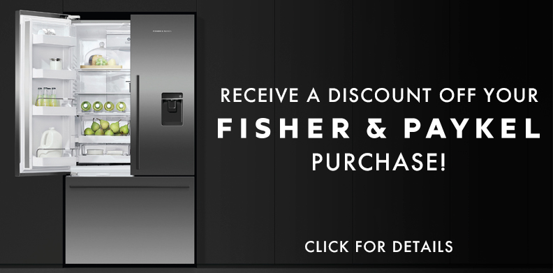 FISHER & PAYKEL DISCOUNT WITH PURCHASE