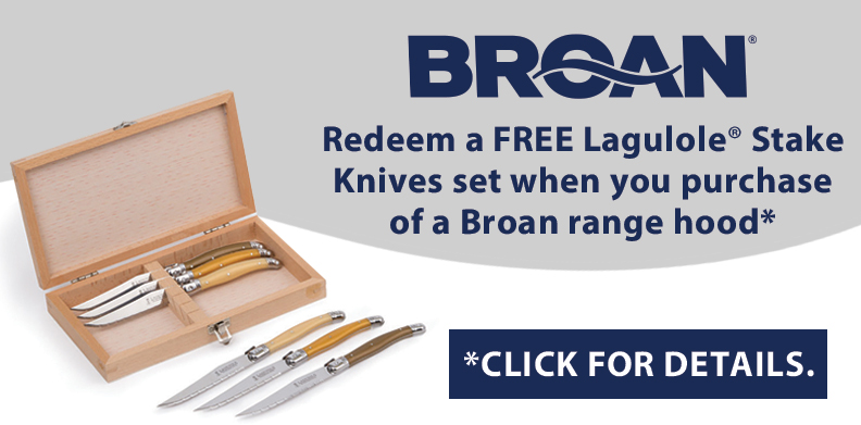 LAGULOLE® STEAK KNIVES WITH BROAN® PURCHASE