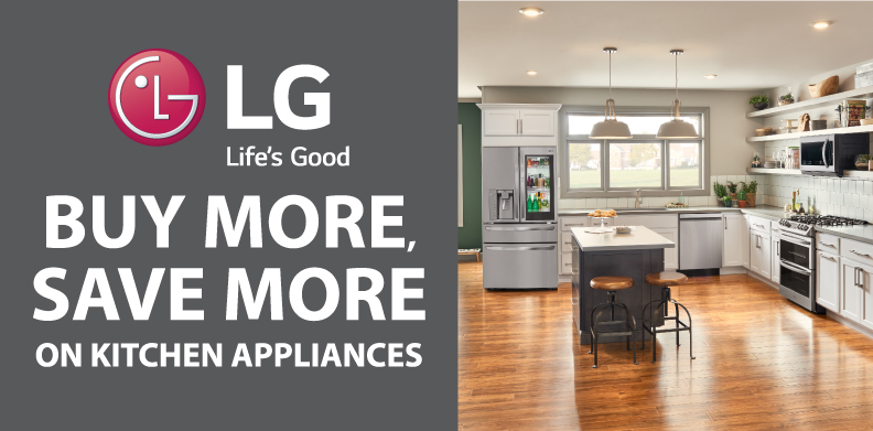 LG BLACK FRIDAY - BUY MORE, SAVE MORE ON KITCHEN APPLIANCES