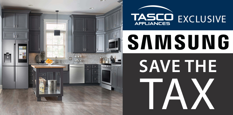 SAMSUNG EXCLUSIVE SAVE THE TAX PROMOTION