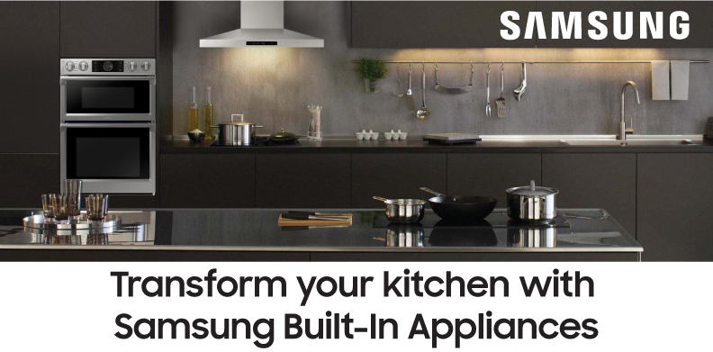 SAMSUNG TRANSFORM YOUR KITCHEN