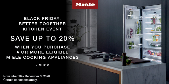 MIELE BLACK FRIDAY: BETTER TOGETHER KITCHEN EVENT