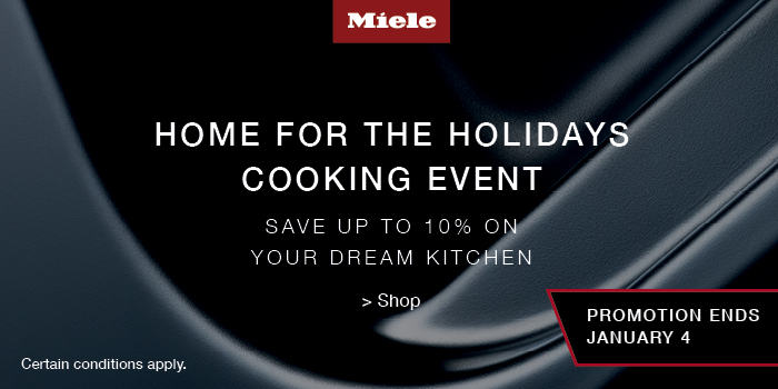 MIELE HOME FOR THE HOLIDAYS COOKING EVENT