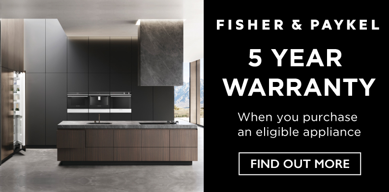 FISHER & PAYKEL 5-YEAR WARRANTY