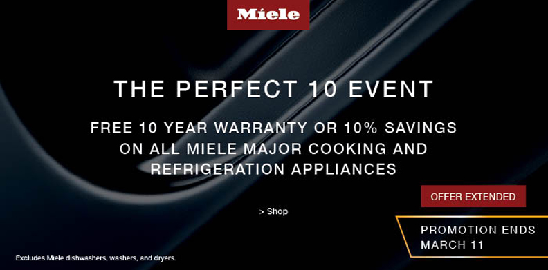 MIELE THE PERFECT 10 EVENT