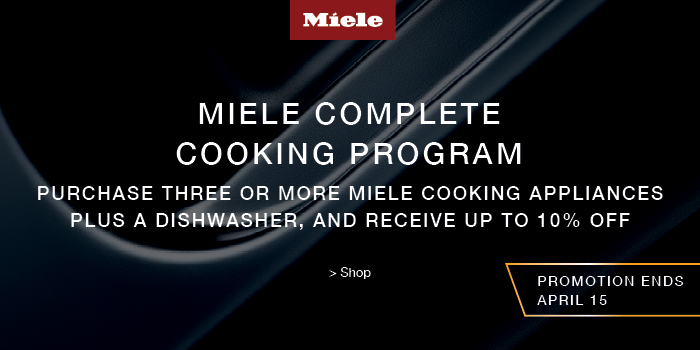 MIELE SPRING COMPLETE COOKING PROGRAM